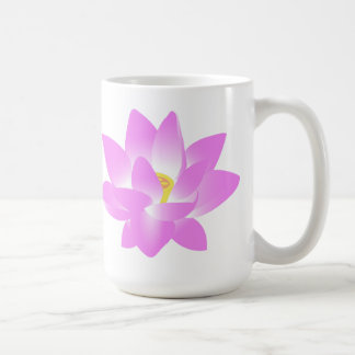 Pink Lotus Flower Coffee Mug