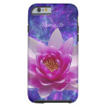 Pink lotus flower Customize Tough iPhone 6 Case