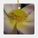 Pink Lotus Flower I Beautiful Peaceful Floral Ceramic Ornament