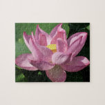 Pink Lotus Flower IV Jigsaw Puzzle