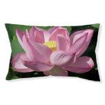 Pink Lotus Flower IV Pet Bed