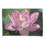 Pink Lotus Flower IV Pillow Case