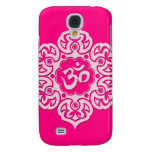 Pink Lotus Flower Om Samsung Galaxy S4 Cover