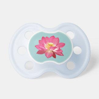 Pink Lotus Flower Pacifier 3