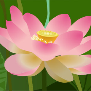 Lotus flower napkins zazzle pink lotus flower paper napkin mightylinksfo Gallery
