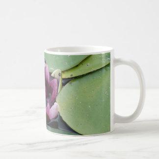 Pink Lotus Flower Photo  Classic White Mug