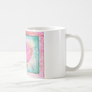 Pink Lotus Flower yoga Coffee Mug