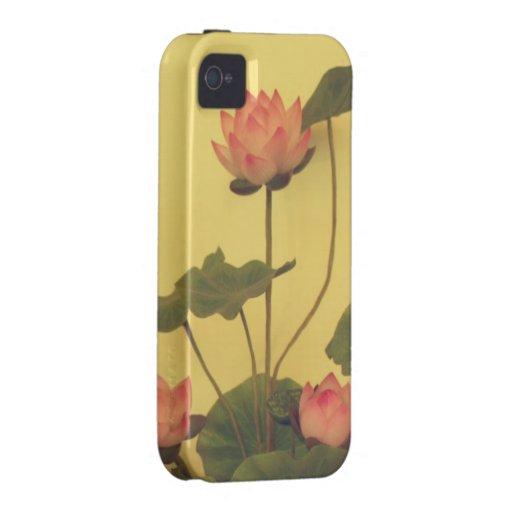 Pink Lotus flowers iPhone 4/4S Case