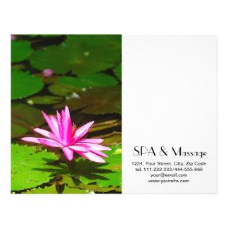 Pink lotus flyer