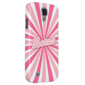 Pink Lotus Galaxy S4 Cover