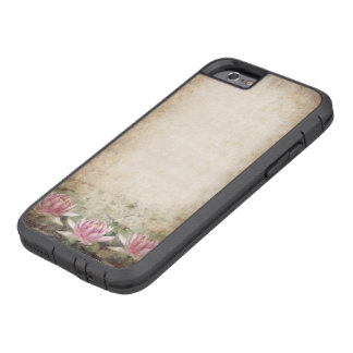 Pink Lotus Grunge Tough Xtreme iPhone 6 Case