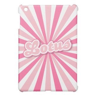 Pink Lotus iPad Mini Case