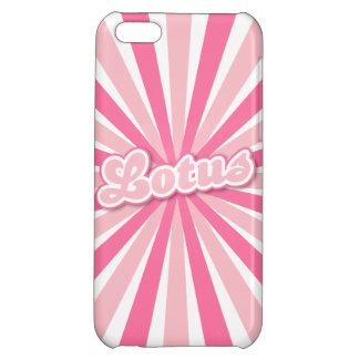 Pink Lotus iPhone 5C Cover
