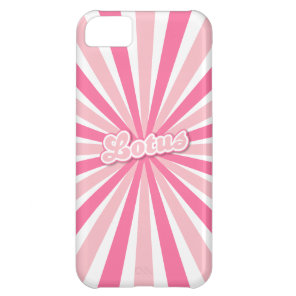 Pink Lotus iPhone 5C Cover