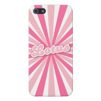 Pink Lotus iPhone SE/5/5s Case