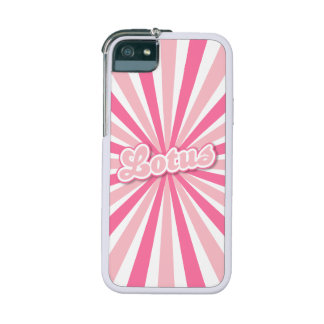 Pink Lotus iPhone SE/5/5s Cover