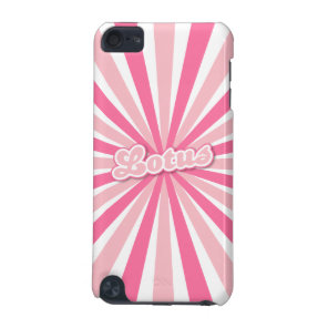 Pink Lotus iPod Touch (5th Generation) Cover