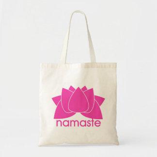 PINK LOTUS NAMASTE - bag
