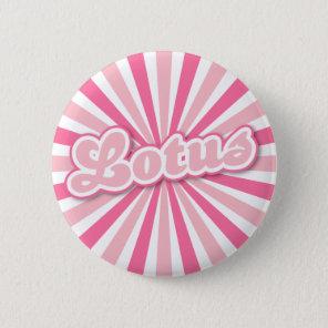 Pink Lotus Pinback Button