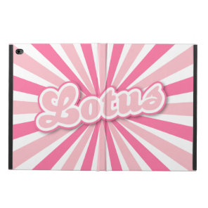 Pink Lotus Powis iPad Air 2 Case