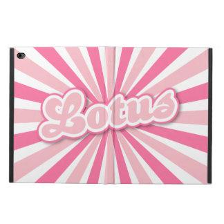 Pink Lotus Powis iPad Air 2 Case