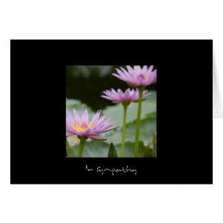 Pink Lotus • Sympathy Card
