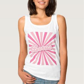 Pink Lotus Tank Top