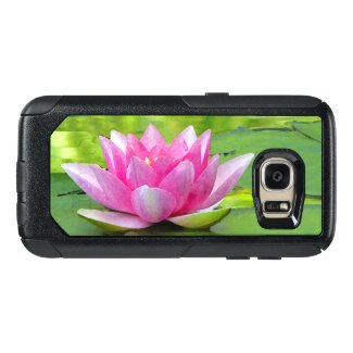 Pink Lotus Water Lily OtterBox Galaxy S7 Case
