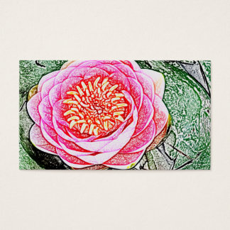 Pink Lotus - Yoga Business Cards