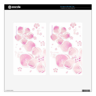 Pink Love Blossoms - Kindle Fire Skin