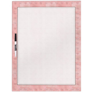 Pink Love Graphic Text Wipe Board