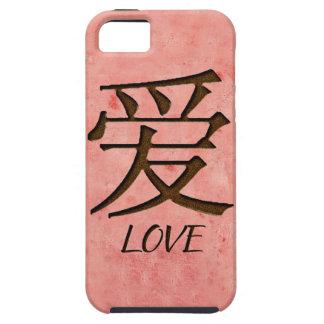 Pink Love iPhone 5 Case Mate Tough