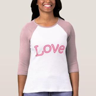 PINK LOVE LADYS T SHIRT