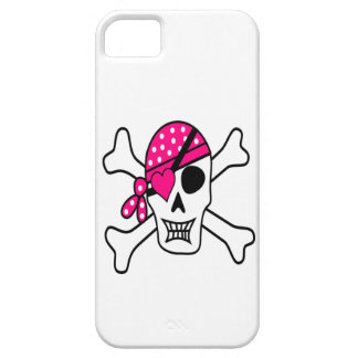 Pink Love Pirate iPhone 5 Covers