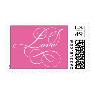Pink Love Stamps