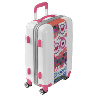 Pink Love Wedding Colors Idea of the Special day Luggage