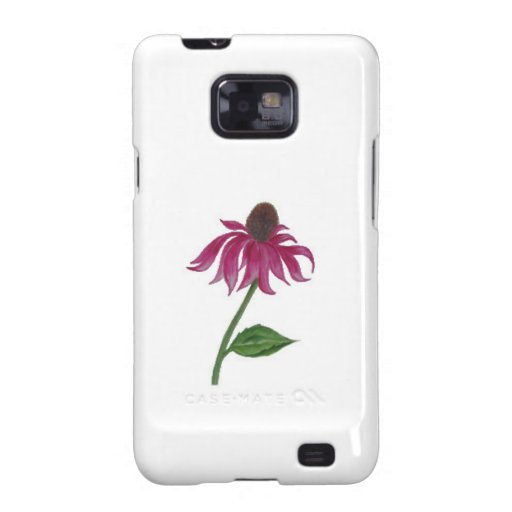 Pink lovely flower galaxy s2 case