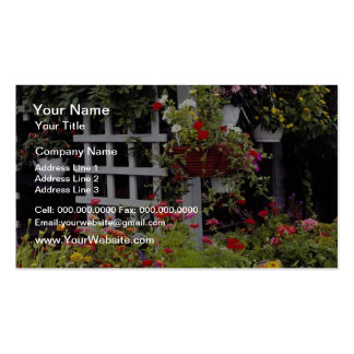 Pink Lovely Nantucket Island, Massachusetts, U.S.A Double-Sided Standard Business Cards (Pack Of 100)