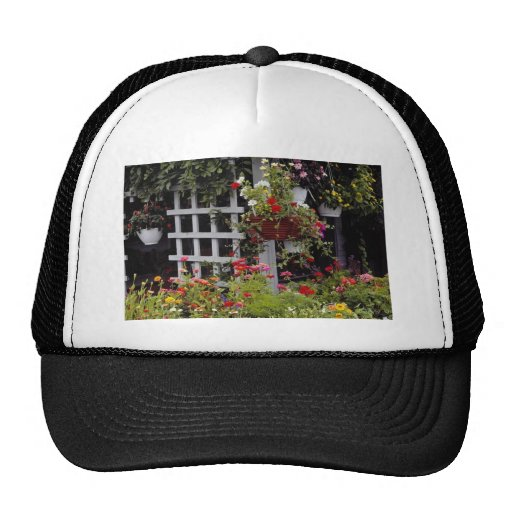 Pink Lovely Nantucket Island, Massachusetts, U.S.A Mesh Hat