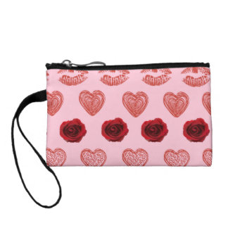 Pink Lovey Dovey Clutch