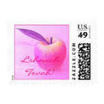 Pink L'Shanah Tovah Apple Stamp