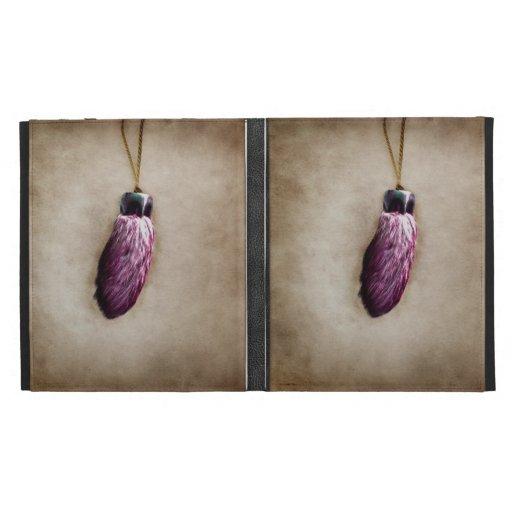Pink Lucky Rabbit's Foot iPad Cases