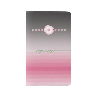 pink luna moonflower medium journal __ beginnings