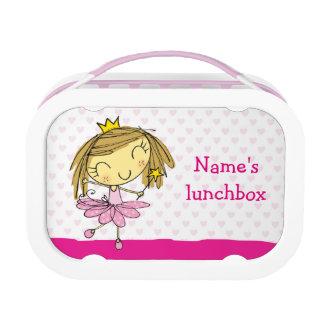 ♥ PINK LUNCHBOX ♥ cute princess ballet fairy girl