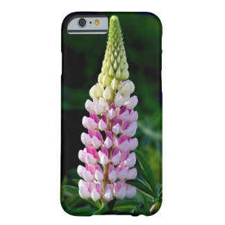 Pink lupin flower iphone case