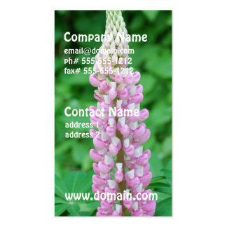 Pink Lupine Business Cards