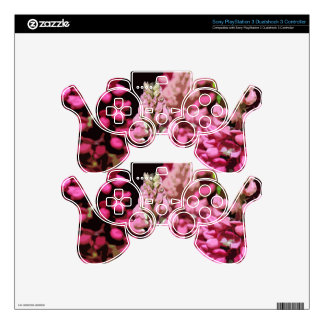 PINK LUPINS PS3 CONTROLLER SKINS