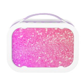 Pink Luxury Diamond Lunch Box