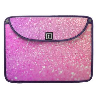 Pink Luxury Diamond MacBook Pro Sleeve