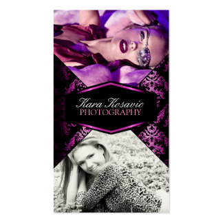 Pink Luxury Photography Business Card
